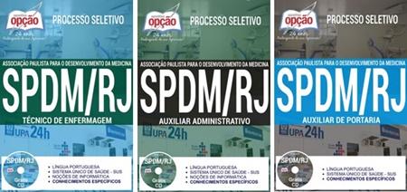 Apostila concurso SPDM-RJ 2017