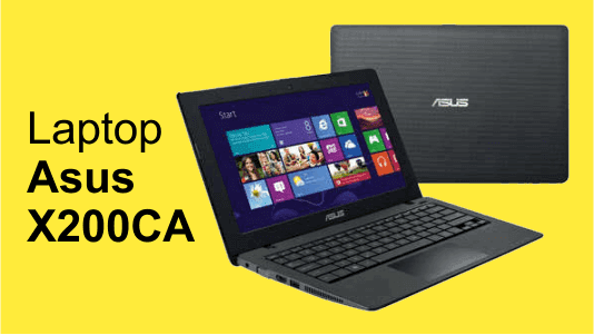 Laptop asus X200CA harga 2 jutaan
