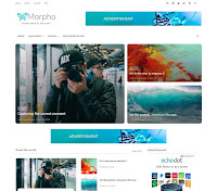 Premium Theme Blossomtheme Download Morpho Blogspot Template Gratis