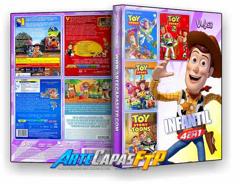 Toy Story 4 Em 1 Dvd