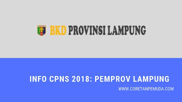 Pengumuman Hasil Tes CAT SKD Pemprov Lampung CPNS 2018 - BKD Lampung