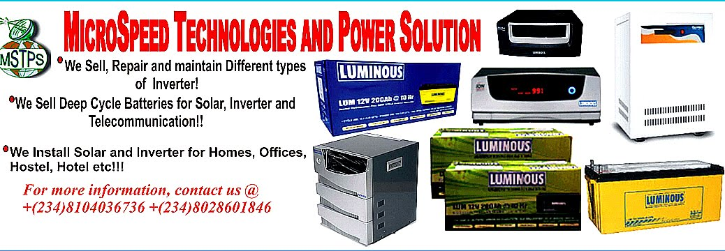 Inverter and Solar Expert in Nigeria