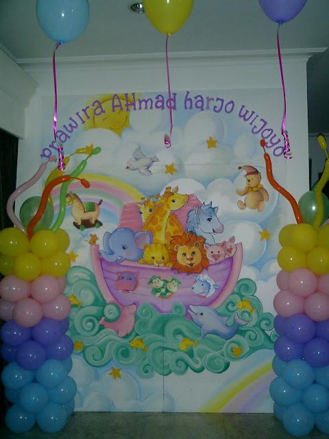 Dekorasi balon ulang tahun murah, simple, dan sederhana