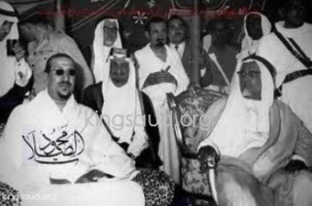صور نادرة لملوك السعودية بلباس الإحرام أثناء تأديتهم مناسك الحج