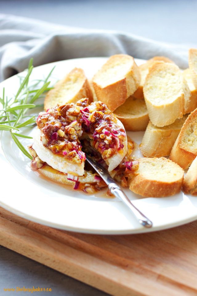 http://www.thebusybaker.ca/2016/12/apricot-pecan-baked-brie-appetizer.html