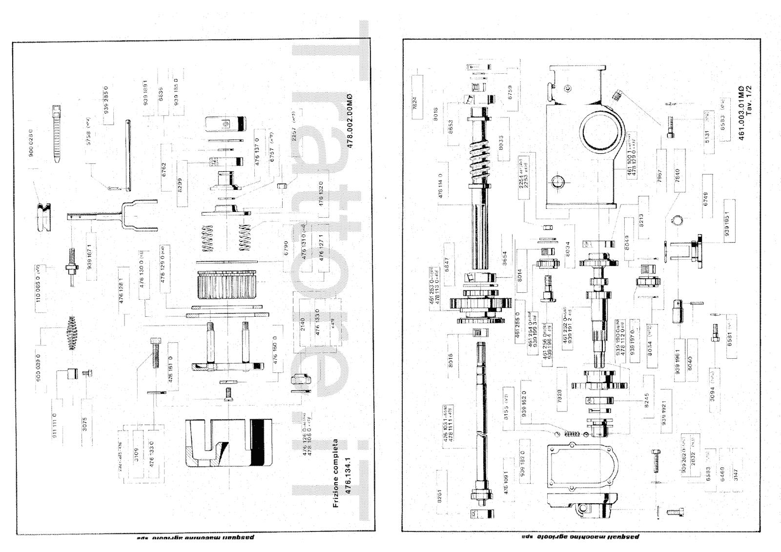 InfoTrattore.it: Motocoltivatore Pasquali 465 manuale