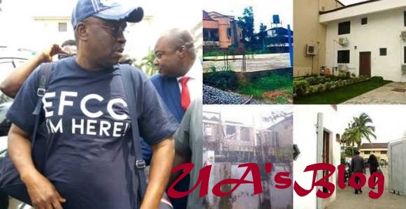 EFCC release photos of properties Fayose acquired wrongfully