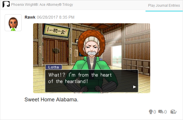 Phoenix Wright Ace Attorney Justice For All Lotta Hart heart of the heartland