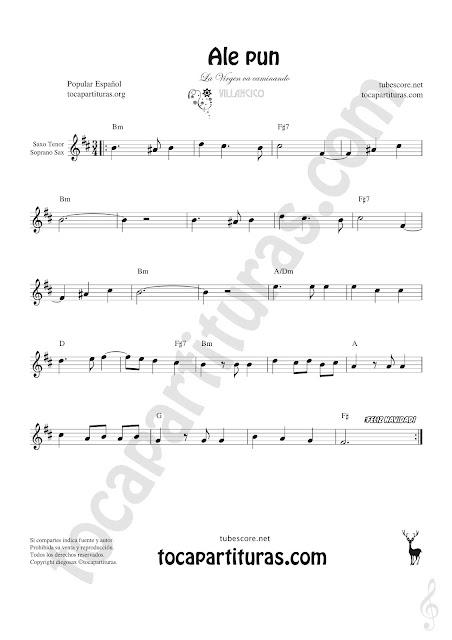 Soprano Sax y Saxo Tenor Partitura de Sheet Music for Soprano Sax and Tenor Saxophone Music Scores