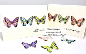 Simple & Quick Butterfly Gala Card Nigezza Creates