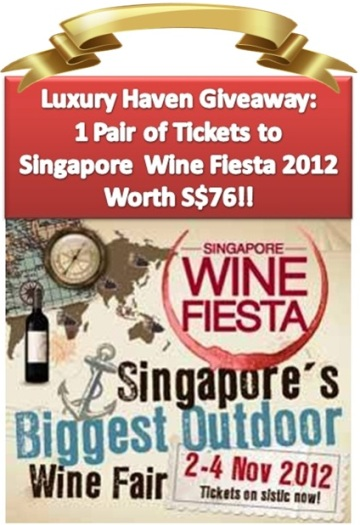 singapore wine fiesta 2012 dbs indulge giveaway