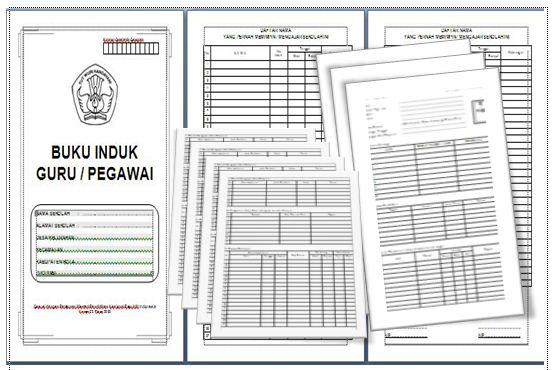 Download Format Buku Induk Guru dan Pegawai Terbaru di Tahun Ini