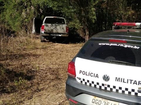 Polícia Militar encontra e recupera Amarok roubada na manhã deste sábado em Mossoró