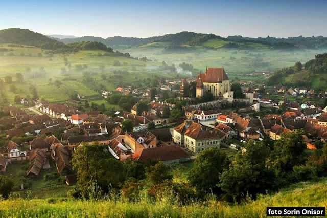 Biserica Fortificata Biertan din Transilvania