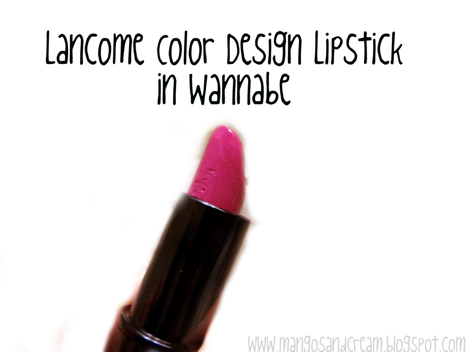 Mangoscream A Beauty Blog Wanna Be Bold Lancome Color Design