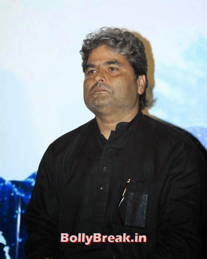 Vishal Bhardwaj, Shraddha & Shahid Kapoor at 'Haider' Trailer Launch