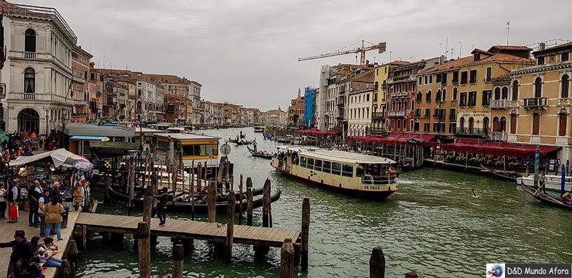 Grande Canal - Vaporetto em Veneza: como se locomover em Veneza
