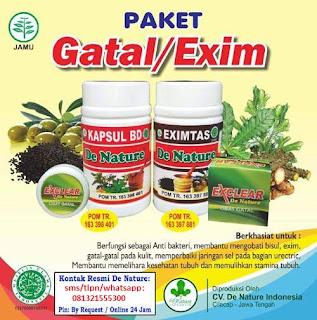 Obat Alami Herbal alami Gatal eksim Menahun
