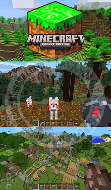 Minecraft Pocket Edition PE v0.17.0.1 APk Mod Texture Skin premium Terbaru