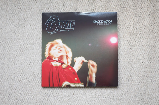 david, bowie, rip, legend, cracked, actor, live, los angeles, spaceman, space oddity, bow, thin duke, thin white duke, ziggy stardust, spiders from mars, record, vinyl, vinyl player, records, triple vinyl, black, blackstar