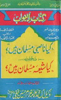 کیا ناصبی مسلمان ہیں تالیف علامہ غلام حسین نجفی