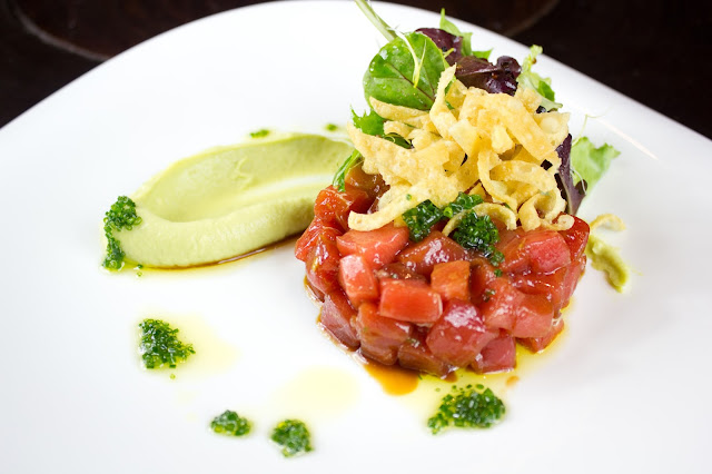 Tuna Tartar from Rubaiyat