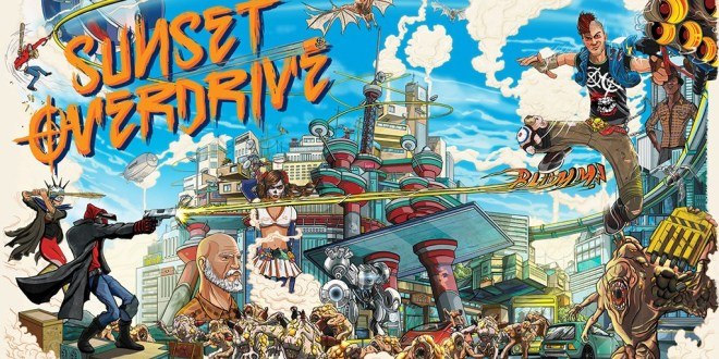 Sunset Overdrive PC Game Download