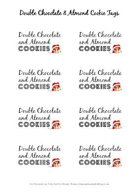 Give The Gift Of Cookies | The Purple Pumpkin Blog - free printable