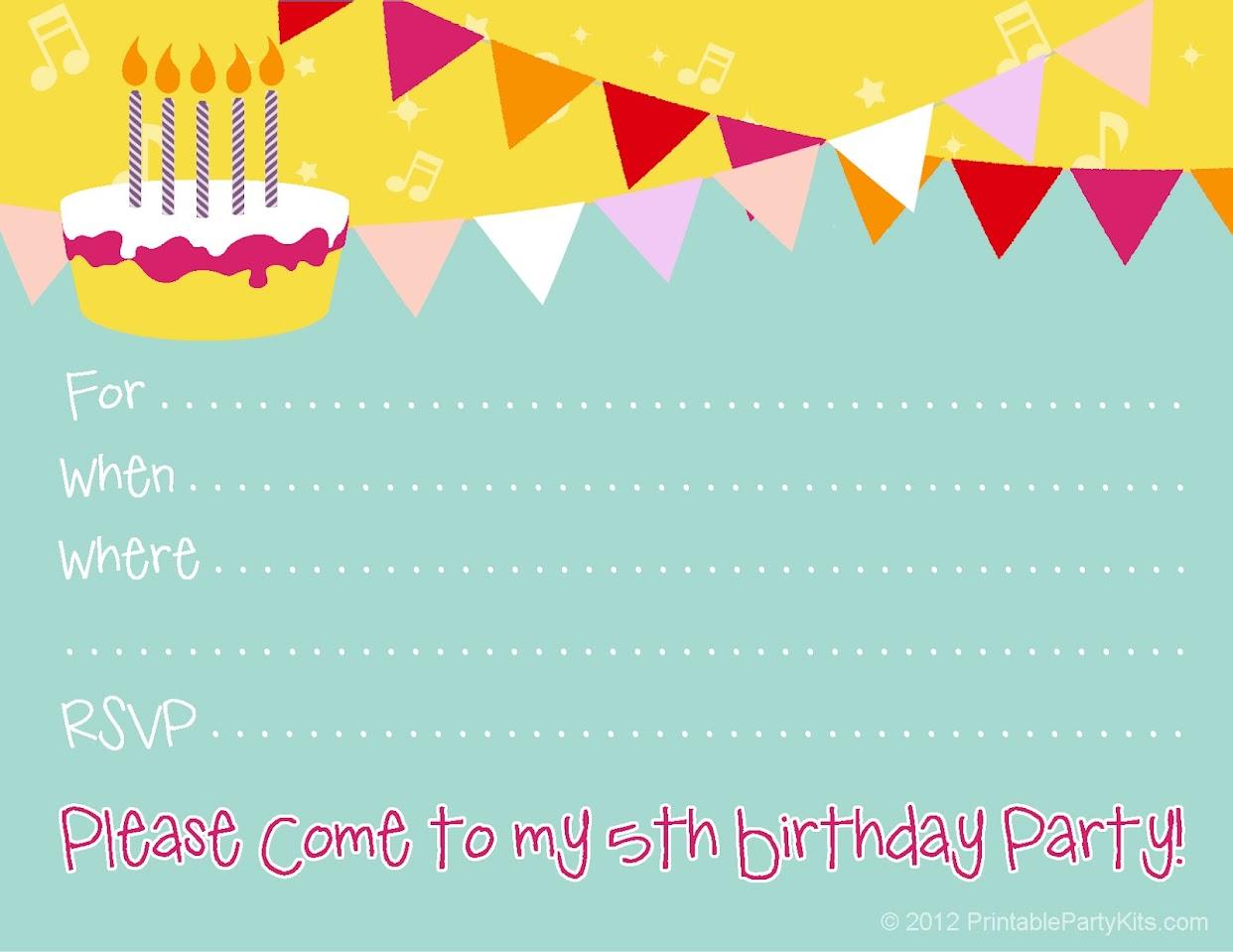 Birthday Invitations | Best Birthday