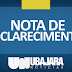 Nota de Esclarecimento da Helptec e Ubajara Notícias