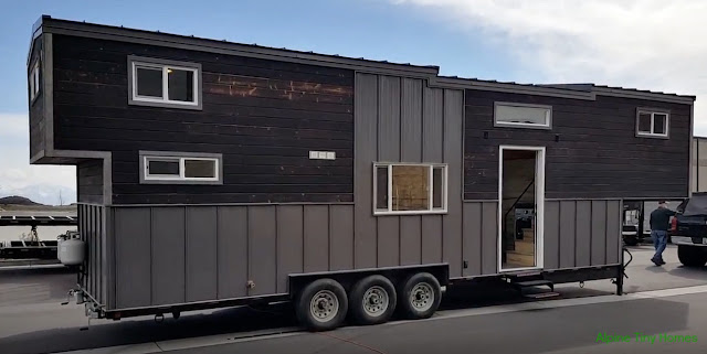 tiny house town the tiny giant from alpine tiny homes. Black Bedroom Furniture Sets. Home Design Ideas