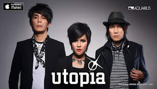 Cord Gitar & Lirik Lagu Utopia - Hujan