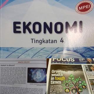 buku pelajaran ekonomi
