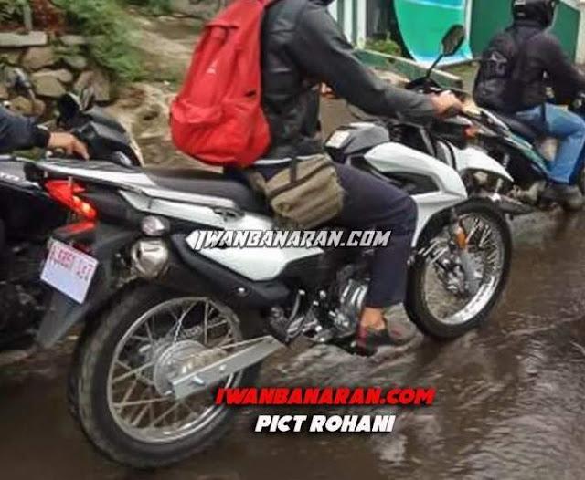 Yamaha XTZ 150 Indonesia terciduk uji jalanan