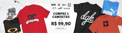 Netshoes Compre 2 camisetas por R$ 99,90