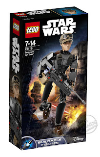 LEGO Star Wars Rogue One Buildable Figure Jyn Erso