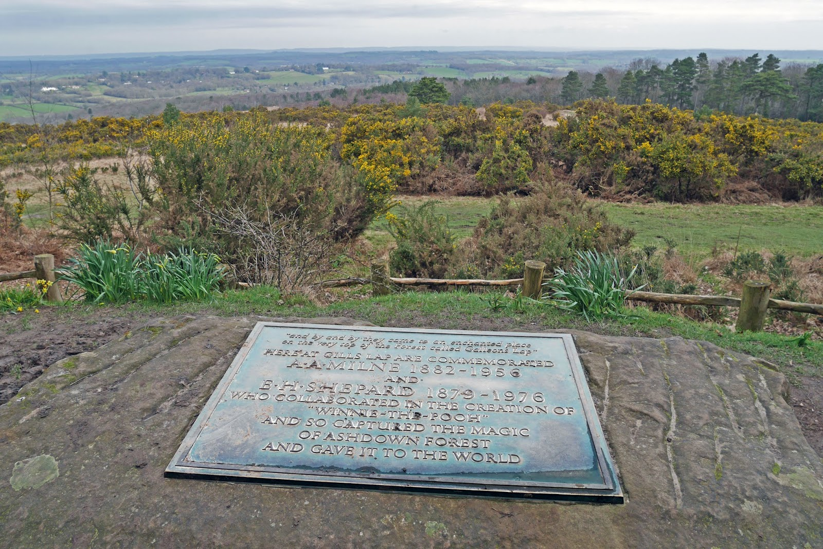 A. A. Milne and E. H. Shepard Memorial, Ashdown Forest