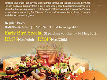 Ramadan Buffet di The Northam | Selera Kampung
