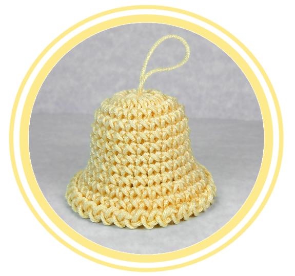 Campana a Crochet (cuatro tamaños) - PATRONES VALHALLA: Patrones ...