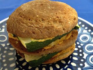 Gluten Free Max Omega Veggie Sandwich