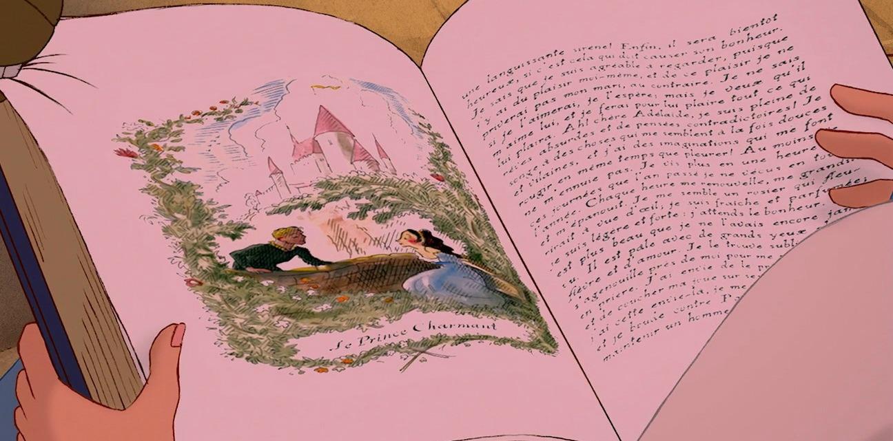 La Bella y la Bestia de Disney - Blog: ¿Qué libro está leyendo Bella?