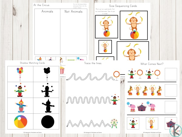 circus-printables-preschool-kindergarten-first-grade