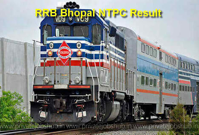 RRB Bhopal NTPC Result