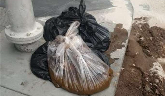 '20 pounds of human waste' dropped on San Francisco street corner