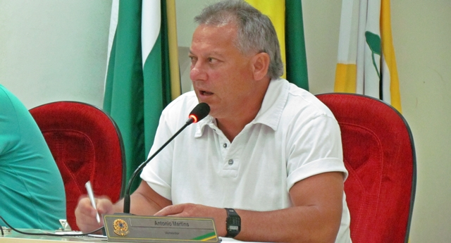 Roncador: Vereador Antônio Martins deve ser o novo presidente da Câmara de Vereadores