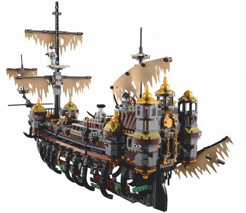 71042樂高神鬼奇航沉默瑪莉號 睽違已久的海盜船 - 魯蛇實驗室