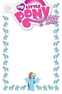 My Little Pony Friendship is Magic #5 Comic Cover Blank Variant