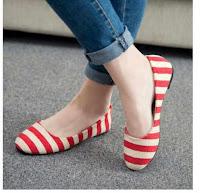 Sepatu Kets Wanita TBP09 Merah