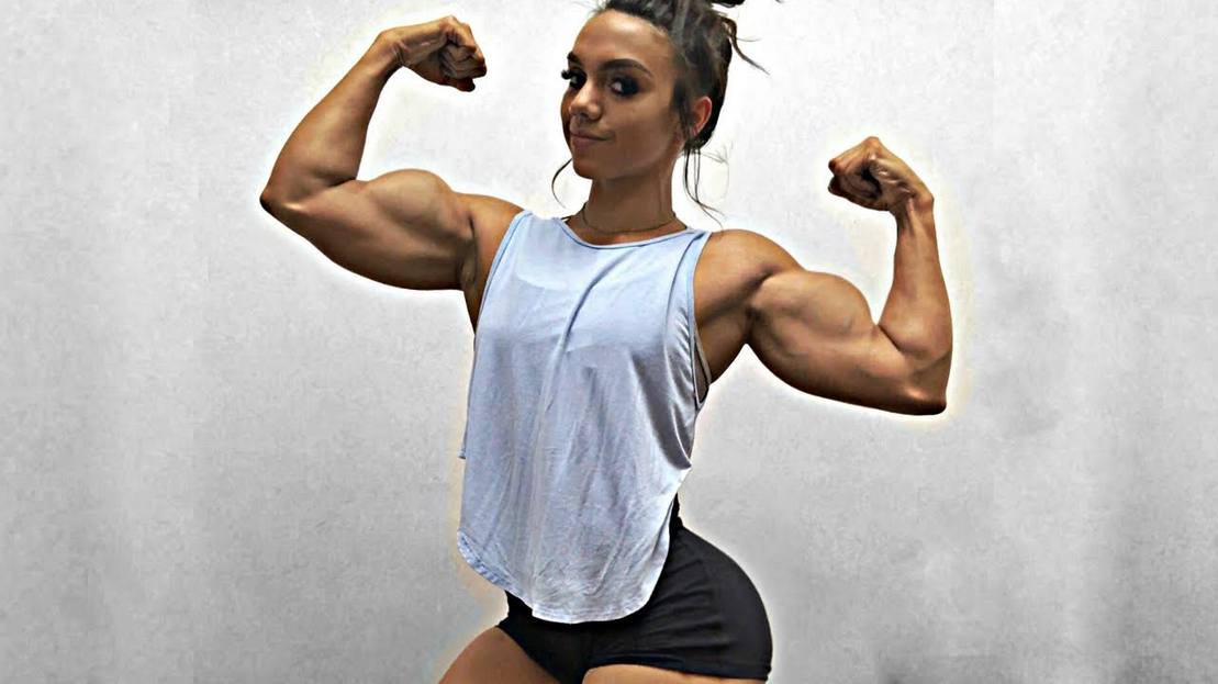 Muscles men like to see in women