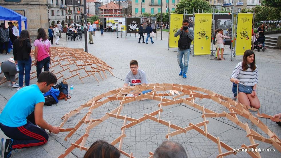 Leonardo. Selfstanding Dome